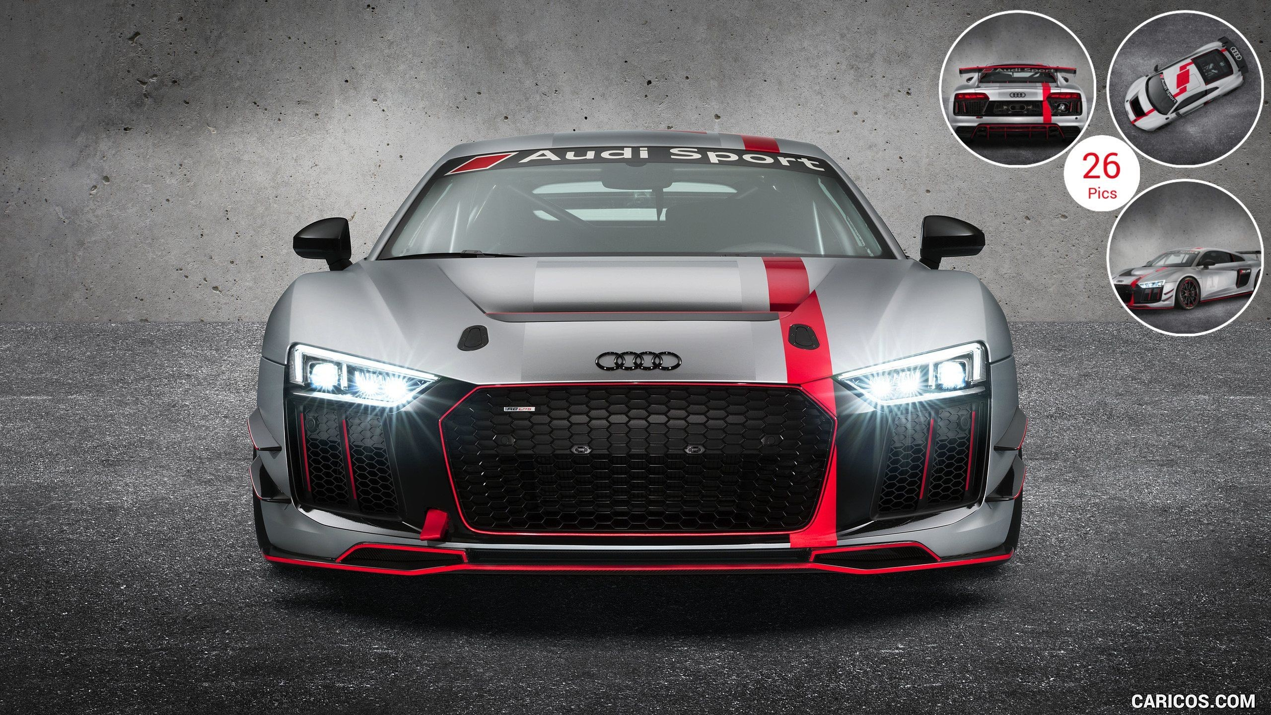 Audi R8 4K Wallpaper