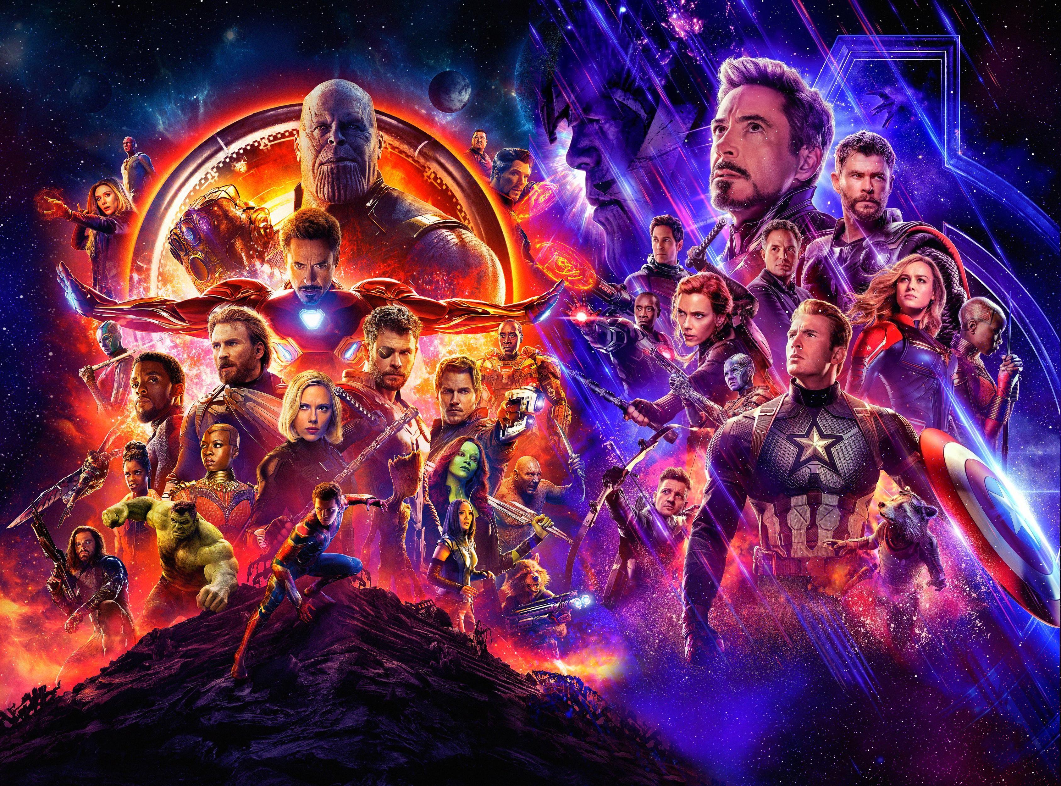 Avengers Endgame iphone duvarkağıdı