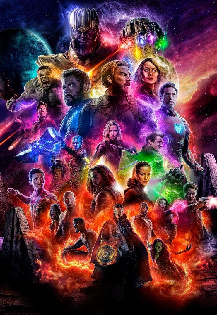Avengers Endgame posterler