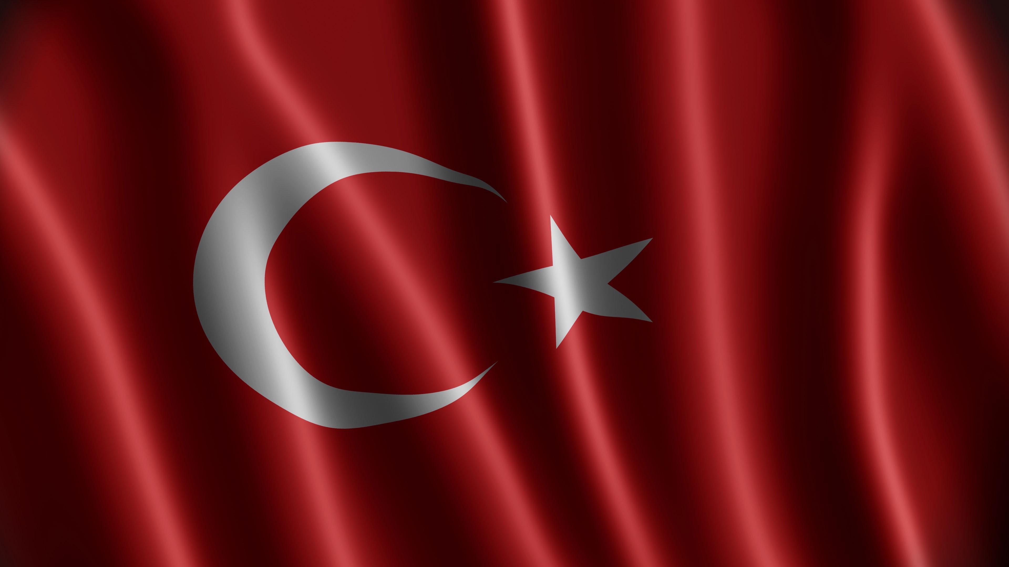 Türk Bayrağı 2k duvarkağıdı