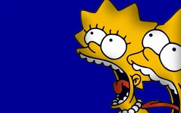 The Simpsons Yılbaşı 1080p duvarkağıdı