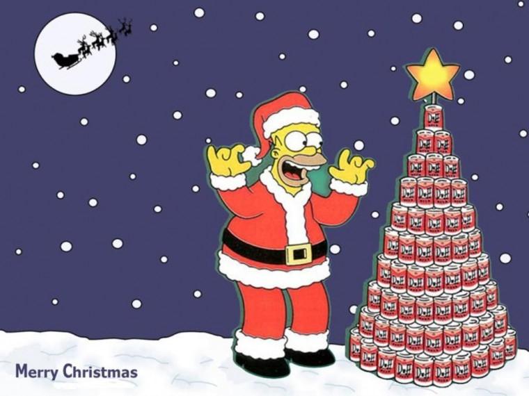 The Simpsons Yılbaşı albüm