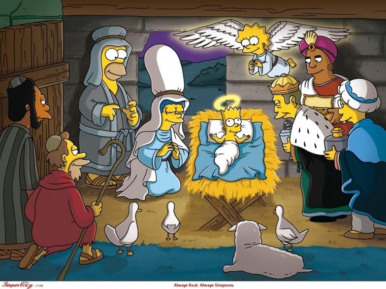 The Simpsons Yılbaşı fotoları