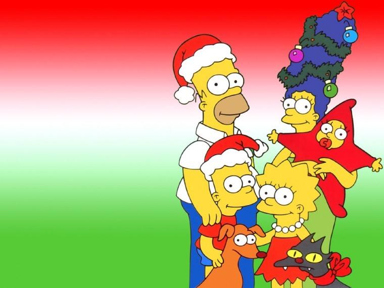 The Simpsons Yılbaşı galeri